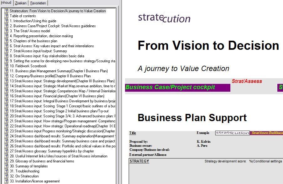 eenvoudig businessplan voorbeeld